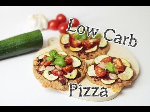 Simple et Yummy Low Carb Pizza mit Pizzaboden aus Tofu
