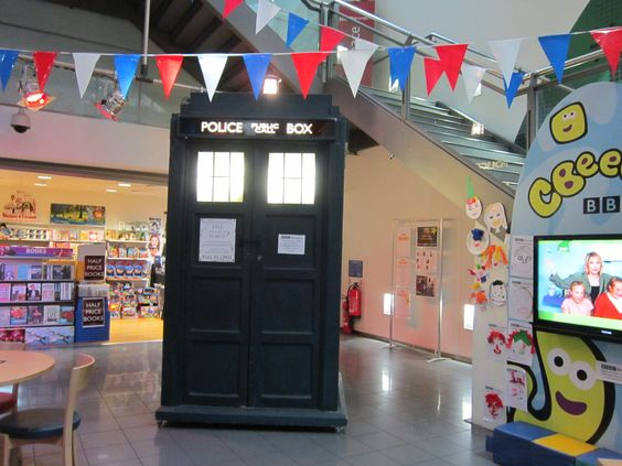 The TARDIS at BBC Studio in Birmingham