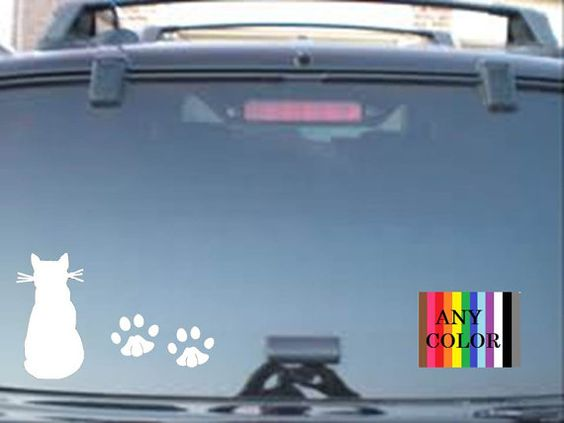 Cat and  paws  choose size & personalization  by Teeznstyle, $3.99