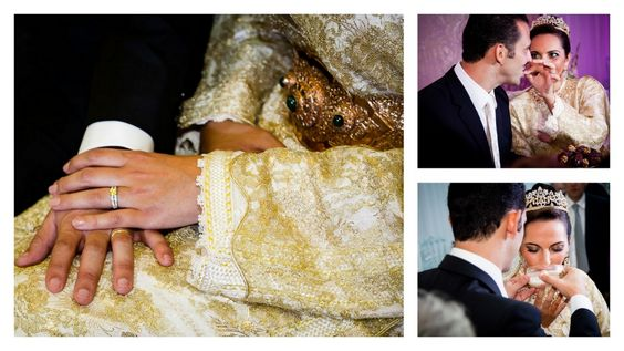 After prayers are given, rings are exchanged, dates and almond flavoured milk are shared and the young couple are considered married Photographe Mariage Maroc | Ludovic Authier | 06 Cannes Antibes Nice Monaco