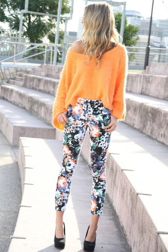 Floral trousers spring