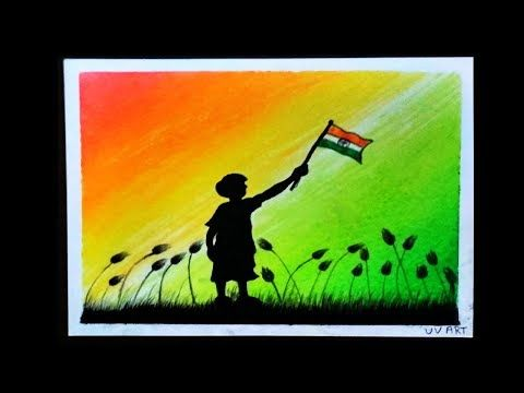 Republic Day Drawing Independence Day Beginners And Kids