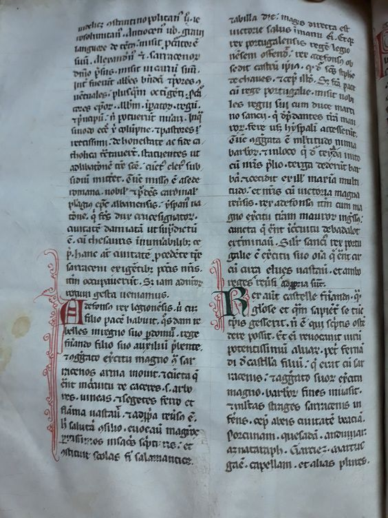 Chronicon mundi. Lucas de Tuy