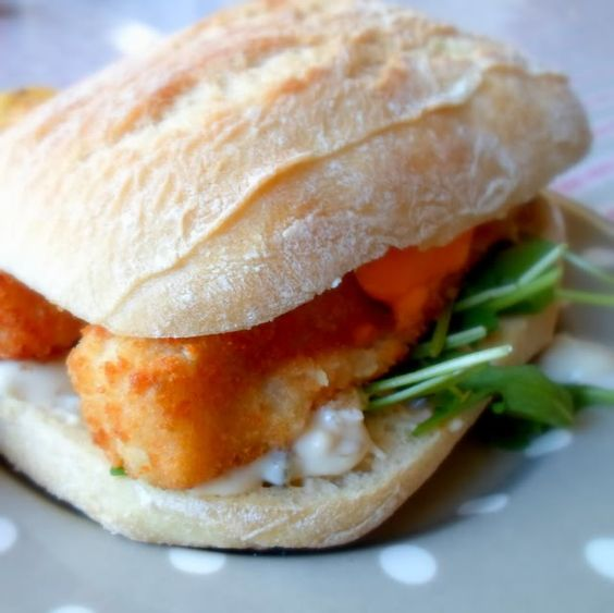 Building the World's Best Fish Finger Buttie (Sandwich)from The English Kitchen