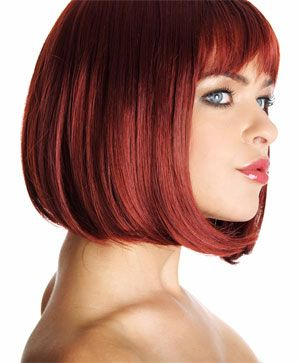 Sensational Bobs Bob Hairstyles And Red Bob On Pinterest Hairstyles For Women Draintrainus