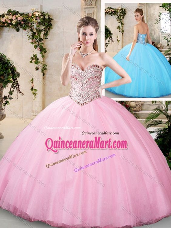 2016 Modern Beading Quinceanera Dresses with Sweetheart