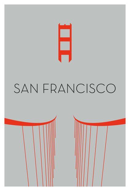Cities [In Progress] by Ryan M. Russell, via Behance #Illustration #San_Francisco
