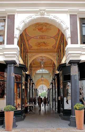 Mellin-Passage. Hamburg, Germany. Learning about the language and culture in class makes me want to visit Germany!