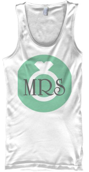 This tank top is cute!  I would have liked something like this to wear on my beach honeymoon!  #weddings   I'm so excited to share the limited edition Just Married Mrs. Tank Top with you!  Be sure to get yours while they last. These American Apparel shirts are comfortable and stylish! You'll look great on your honeymoon in this cute tank top!  You are the first to get your hands on this hot item! Enjoy :) #wedding #bride #mrs #fashion #honeymoon #beach #beachbride