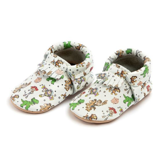 Toy Story Moccasins for Baby by Freshly Picked