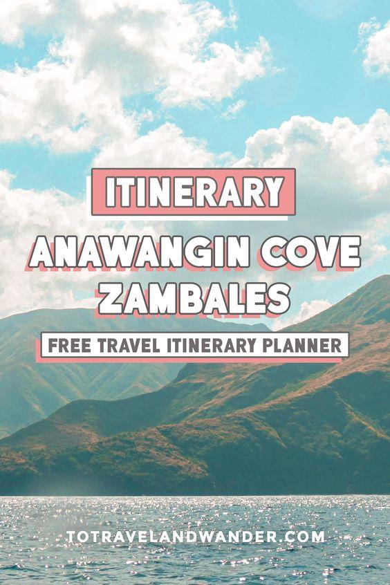 Anawangin Cove, Zambales Itinerary Guide
