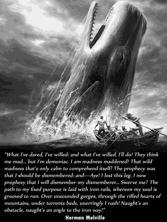 ishmael and ahab relationship