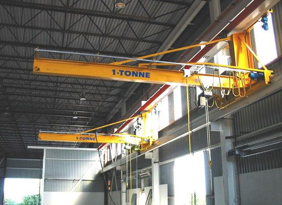 1 Ton Jib Crane Small Jib Crane Great For Light Duty In 2020 Cranes For Sale Gantry Crane Crane