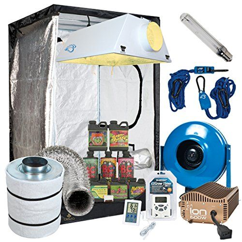 just saw this on amazon complete 4 x 4 grow tent package w 600w