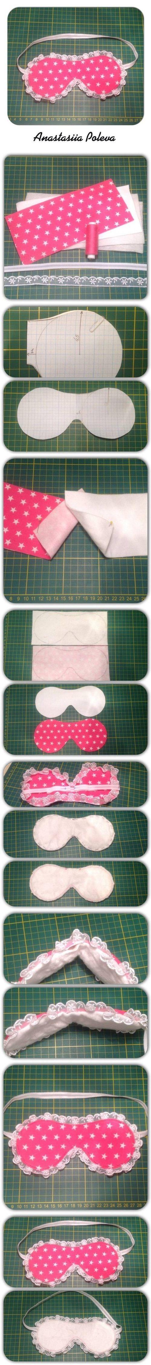 DIY Sleeping Mask DIY Projects / UsefulDIY.com: