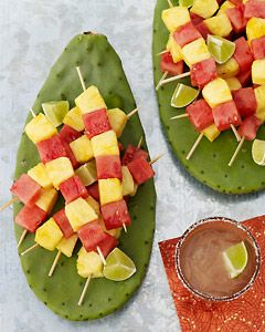 Fruit Kabobs. So easy and delicious.
