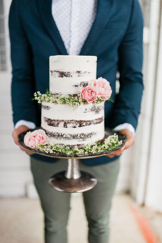 Es-tu une mariée princesse ou bohème ? Le wedding cake ! 1