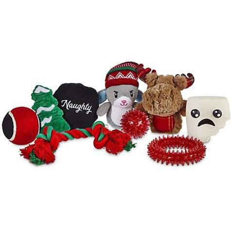 Time For Joy Assorted Holiday Dog Toy Gift Set Petco Dog Toys