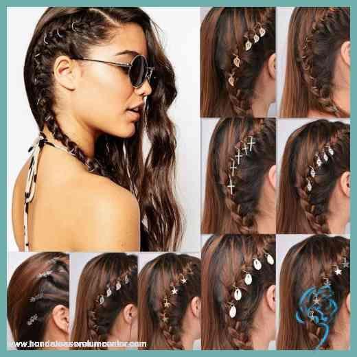 5stk Haarklammer Haarclip Haarring Haarspange Damen Haarschmuck Damen Frisuren Haar Ringe Zopfe Flechten Haar Styling