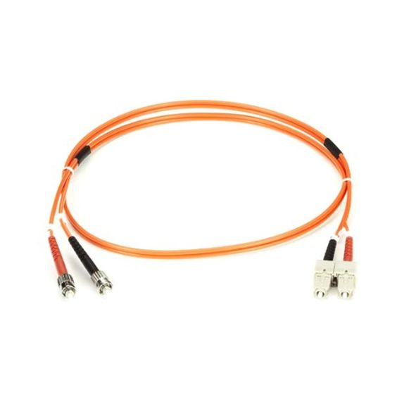 Fiber Patch Cable, Duplex, Multimode, OM2, 50/125, OFNR, ST-ST, 1 Meter -- Awesome products selected by Anna Churchill