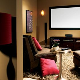 Did you know that with a little paint and ScotchBlue Painter's Tape you can transform any room into a home theater?