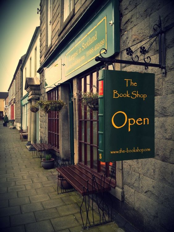 The Bookshop, Wigtown, Scotland. The biggest second-hand store in Scotland has a…