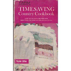 Sweet old cookbook, circa 1961