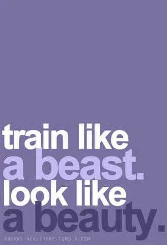 Makes me giggle bc I have a friend who calls me a beast when I work out.  12 Workout motivational quotes - Motivation Blog - Motivation quotes
