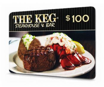 The Keg restaurant. Our fav for awesome fillet mignon.