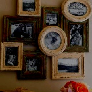 rustic frame collage