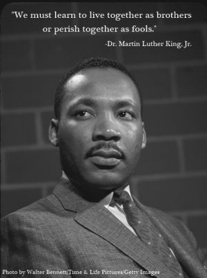 How has Martin Luther King Jr. helped White Americans?