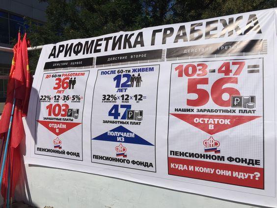 Арифметика грабежа на Оренбургском митинге