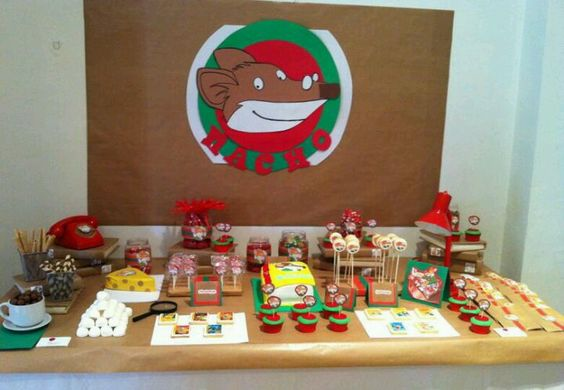 Mesas geronimo stilton and geronimo on pinterest - Decoracion de mesas para eventos ...