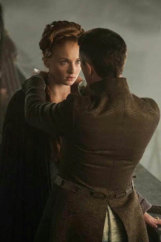 Sansa Stark and Petyr Baelish, Game of Thrones, Season 4