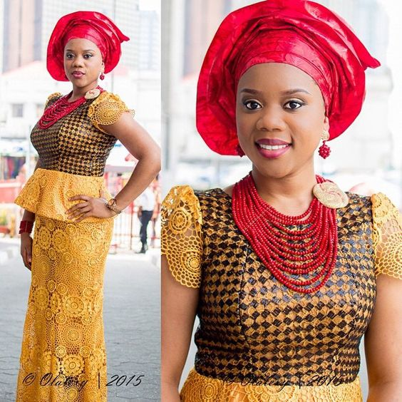 9 Hot Aso Ebi Designs For July 2015  Amillionstylescom