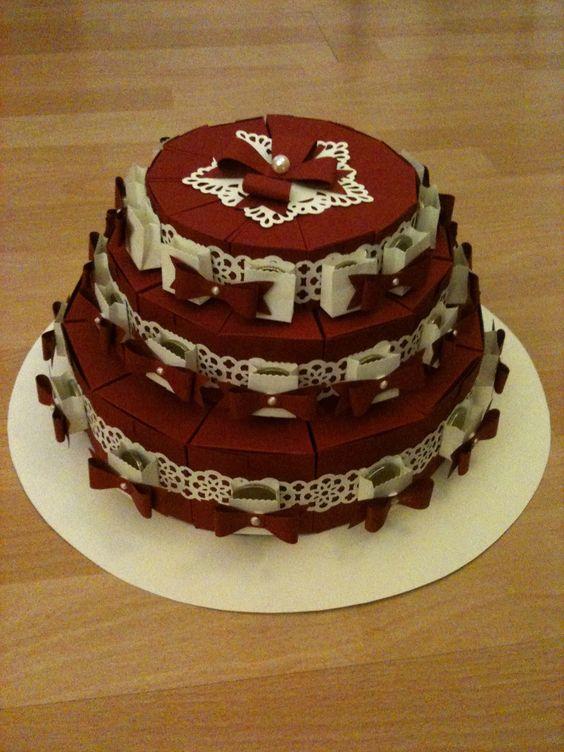 Geldgeschenk als Torte 1