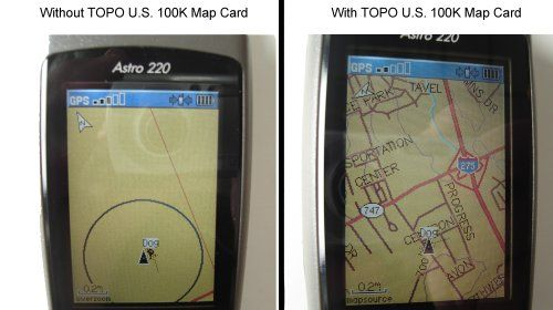 Review Discount Garmin Astro Dog Tracking GPS Bundle With DC - Us 220 map