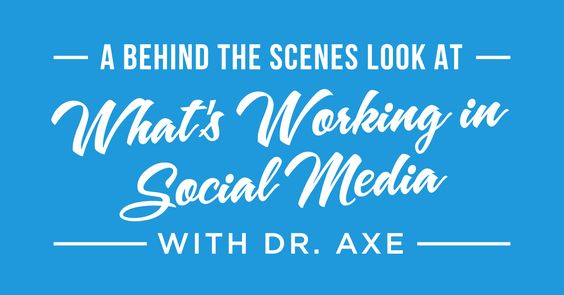 Social media changes RAPIDLY and today we are exploring what's working NOW. My guest today is Dr. Axe, a certified doctor of natural medicine, doctor of chiropractic, and clinical nutritionist. However, he's not here to discuss health. He's here because his website attracts more than six million views per month and his Facebook page has ... Click to Read More