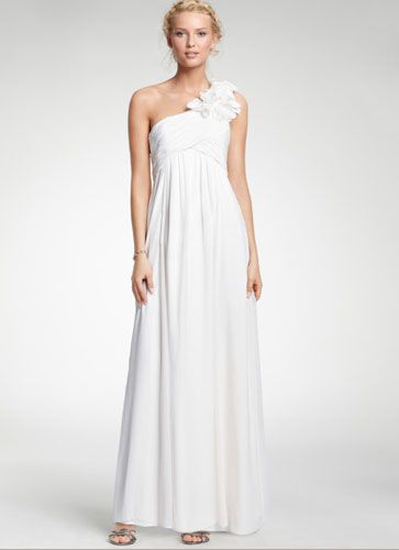 Love this one-shoulder style from Ann Taylor