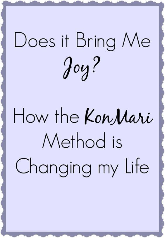 How do I organize my life?