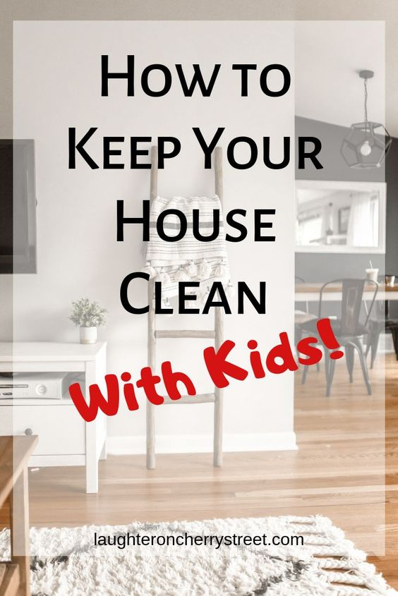 Discover tips for keeping your home neat and tidy with kids! It is so easy for your house to get out of control quickly when you have small children running around but you don't have to live in a mess! Follow these tips and you'll be on your way to a tidy home in no time!