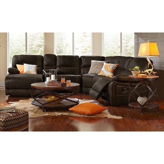 Saddles Reclining Sectional And Living Room Seating On Pinterest
