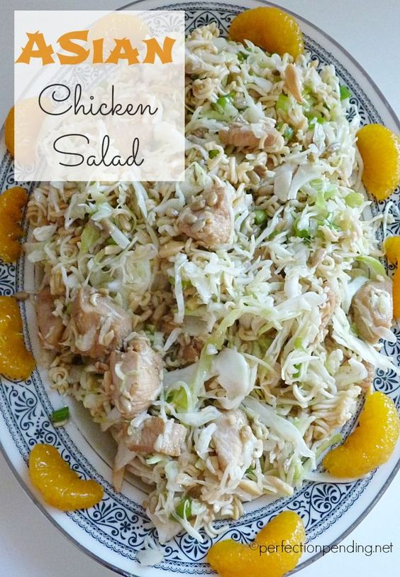 chicken asian chicken salads delicious recipes chicken salads chicken ...