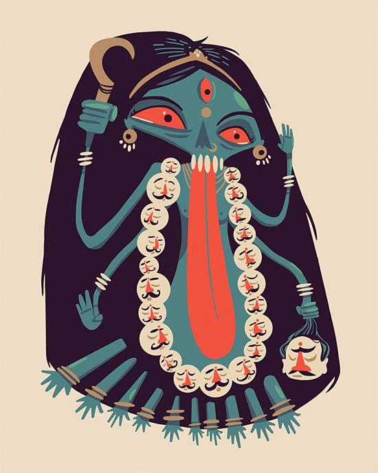 Illustrations by Isuri Merenchi Hewage | Inspiration Grid | Design Inspiration: