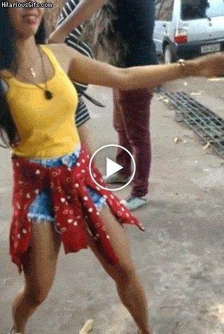 Dançando na rua