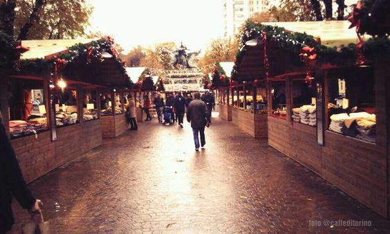 Mercatino di Natale francese, p.za Solferino #torino