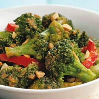 Spicy Stir-Fried Broccoli & Peanuts | In the Kitchen | Pinterest ...