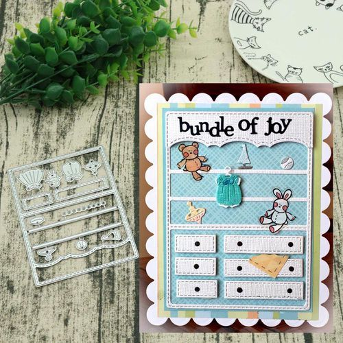 Paper Cards Making Cutter Punch Stencils Cutting Dies Embossing Scrapbooking