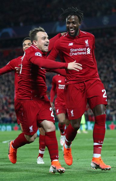 Xherdan Shaqiri Photos Photos Liverpool Vs Barcelona Uefa Champions League Semi Final Second Leg Uefa Champions League Liverpool Team Liverpool Soccer