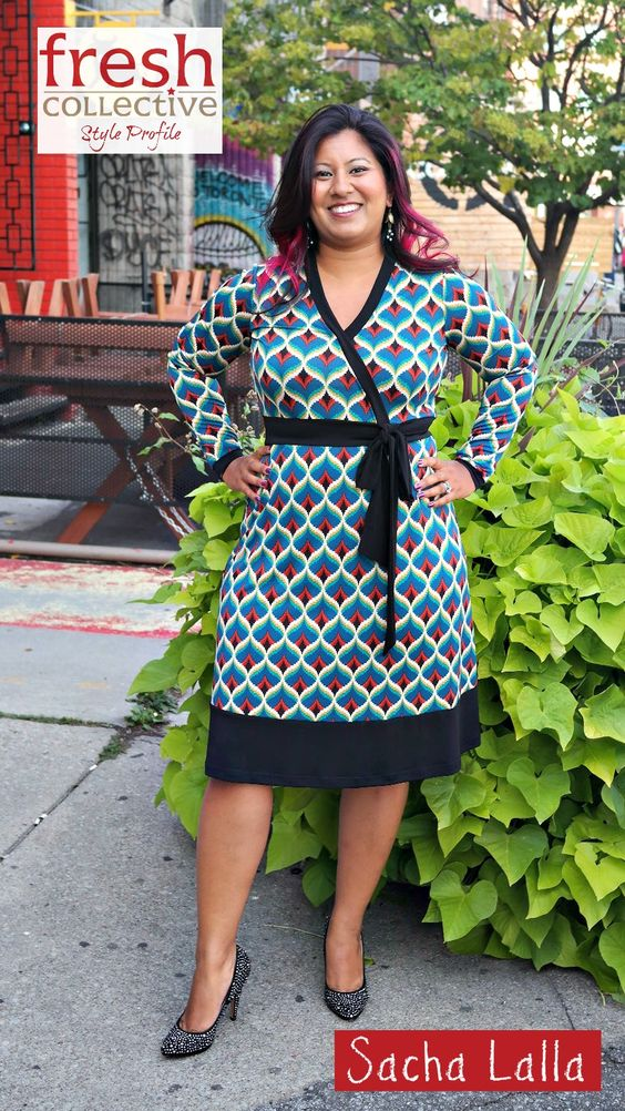 Feminine Leadership expert Sacha Lalla joined us for a Style Profile.  Here she is rockin' a Wren Dress from Mandala Design.
